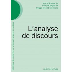 Analyse de discours (L')