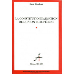 Constitutionnalisation de...