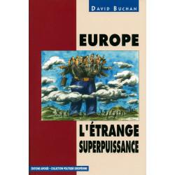 Europe, l'étrange...