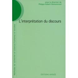 Interprétation du discours (L')