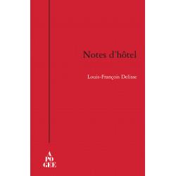 Notes d'hôtel