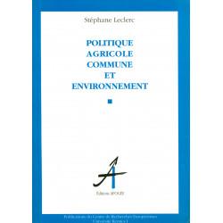 Politique agricole commune...