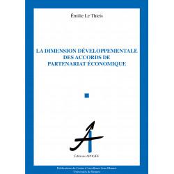 Dimension développementale des accords de partenariat économique (La)